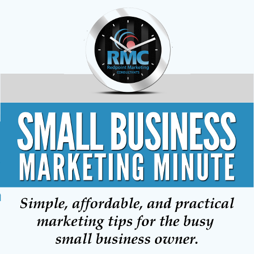 Small Business Marketing Minute Podcast Logo
